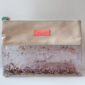Benefit Clear Sparkling Makeup Bag